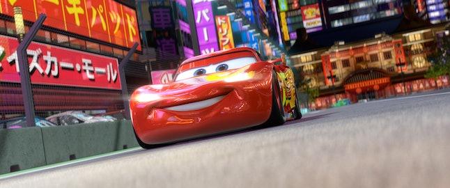 Lightening McQueen, voiced by Owen Wilson, returns for 'Cars 2'.