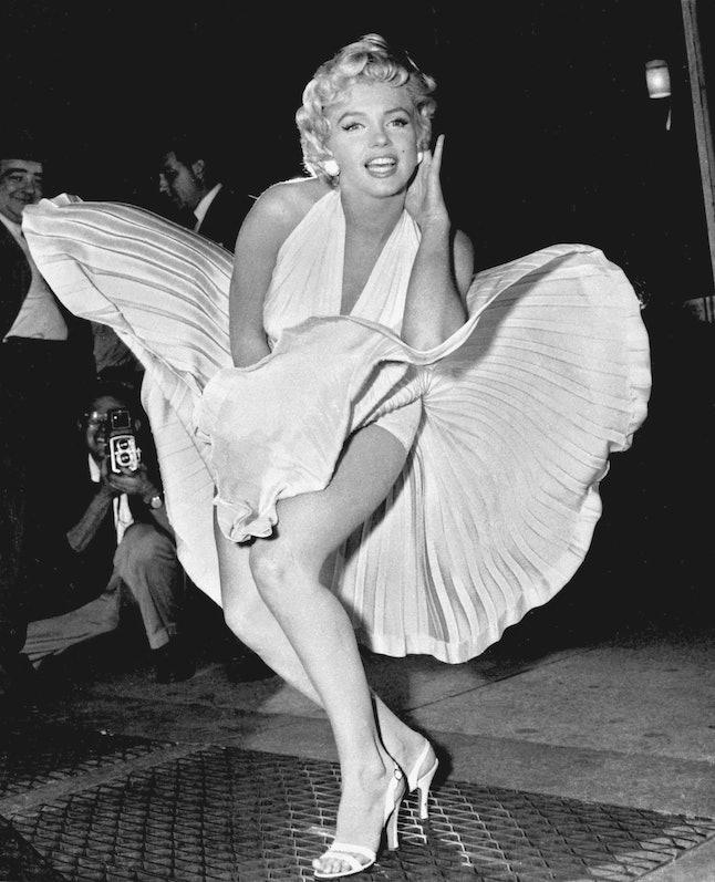 Marilyn Monroe in the dress Debbie Reynolds saved