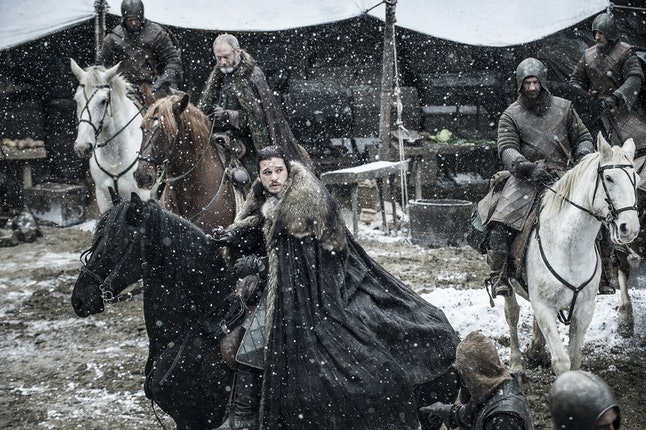 Where is Jon Snow heading?