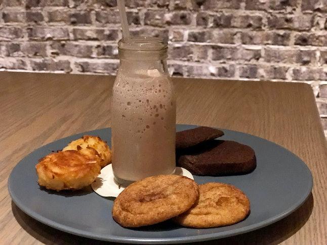 Milk & Cookies at Markham's