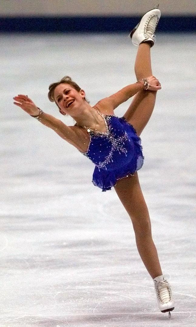 Tara Lipinski at the 1998 Olympics in Nagano, Japan