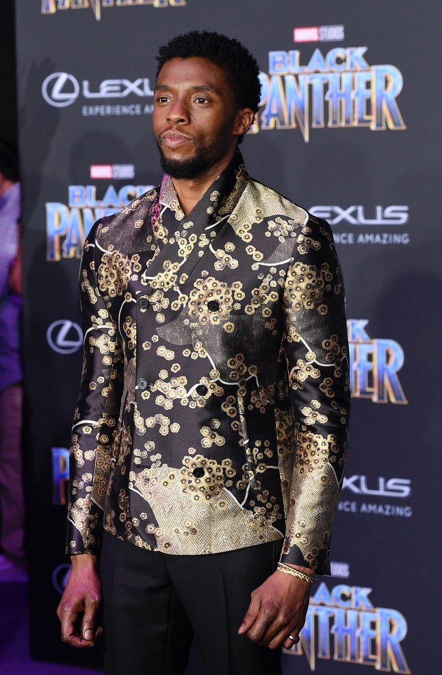 Chadwick Boseman at the Los Angeles World Premiere of 'Black Panther'