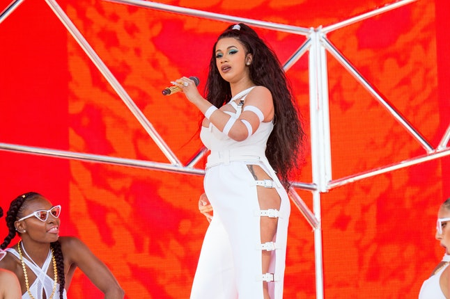 Cardi B performs at the Coachella Music and Arts Festival in April.