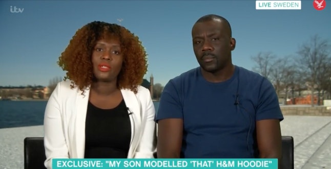 Liam Mango's parents spoke out on British daytime talk show 'This Morning.'