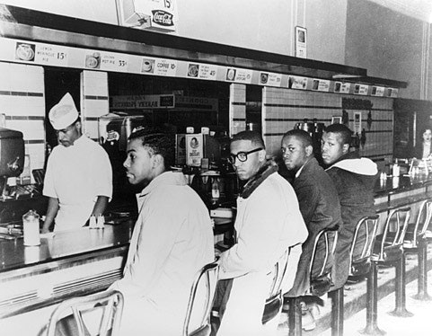 Woolworth's Lunch Counter protest