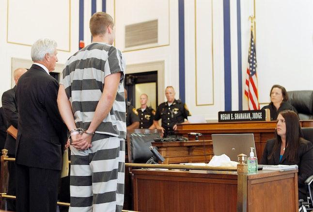 Ray Tensing at arraignment, Jul. 30, 2015.