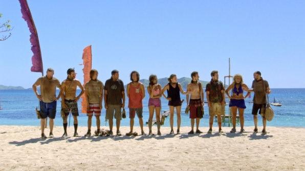 The final 11 castaways