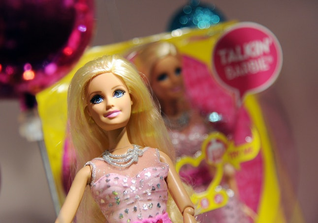 Barbie Life in the Dreamhouse Friendship Doll on display at the Dream Toys 2013 press day, November 6, 2013