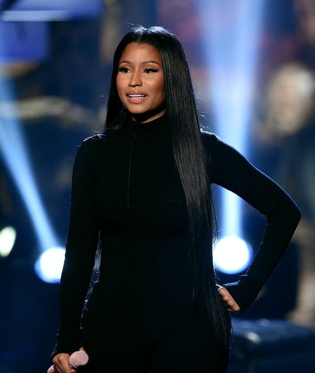 Nicki Minaj performs at the 2016 American Music Awards.