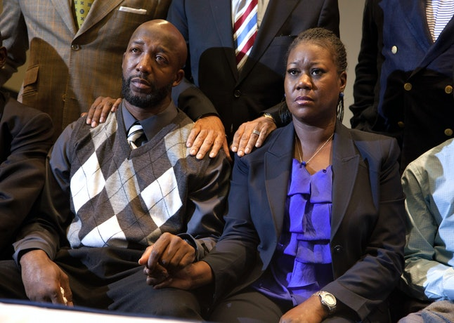 Trayvon Martin's parents Tracy and Sybrina Fulton