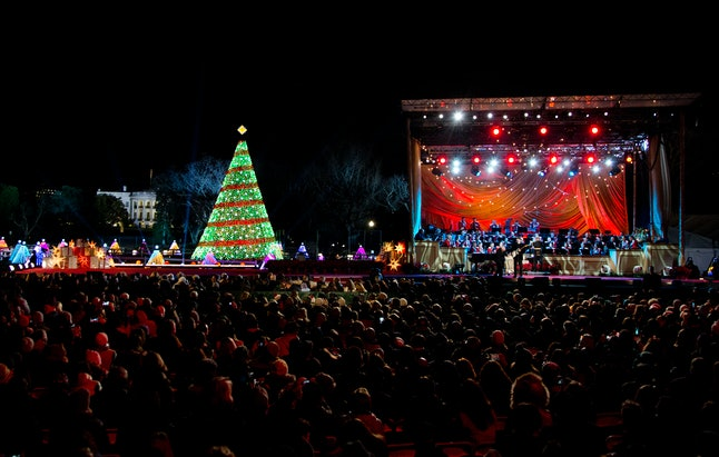 The 2014 national Christmas tree lighting ceremony