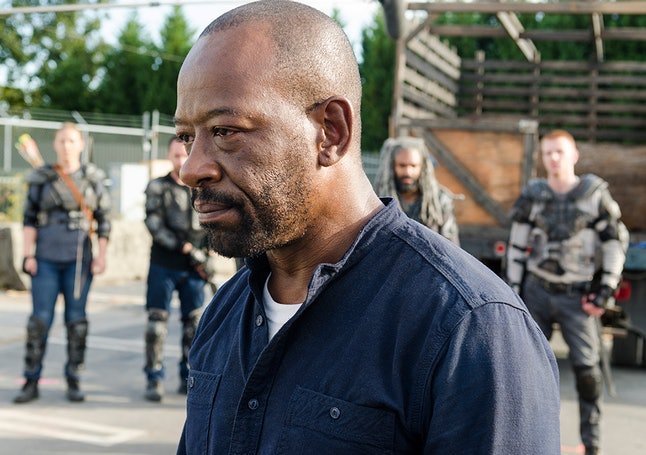 Because the writing for Carol currently sucks, Morgan is the most compelling character on 'The Walking Dead'