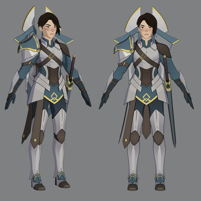 Creating General Amaya was a bigger undertaking than most other characters.
