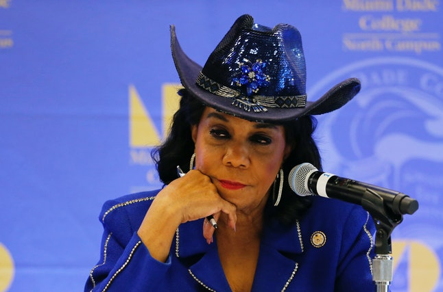 Democratic Rep. Frederica Wilson of Florida