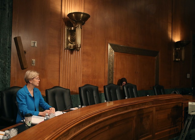 Sen. Elizabeth Warren from Massachusetts