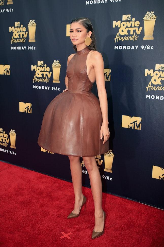 Zendaya at the 2018 MTV Movie and TV Awards