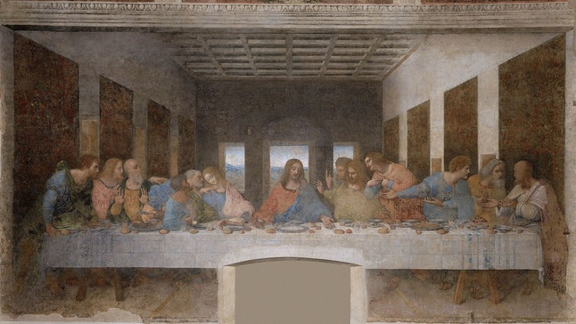 'The Last Supper,' Leonardo da Vinci, 1495