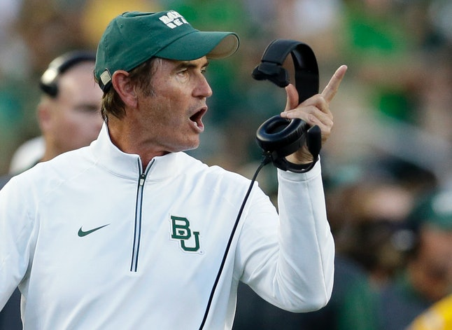 Fired Baylor football coach Art Briles.