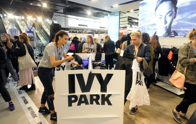 Beyoncé's Ivy Park collection at Topshop