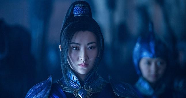 Jing Tian in 'The Great Wall'