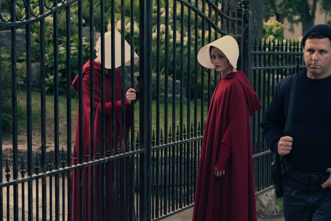 Alexis Bledel and Elizabeth Moss in 'The Handmaid's Tale'