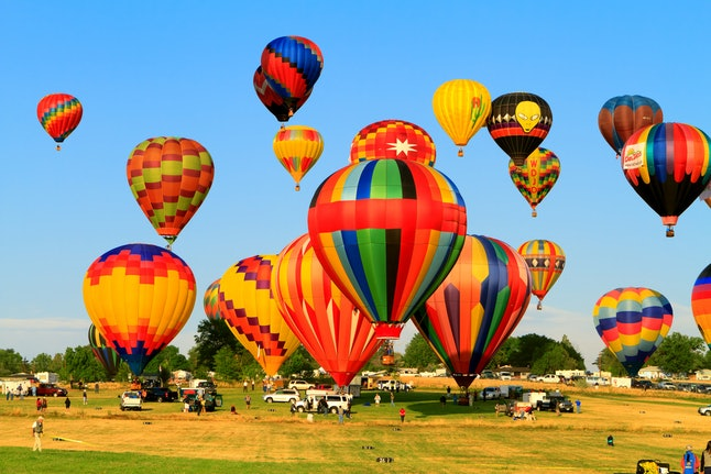 The annual balloon race in Reno is a sight to behold.