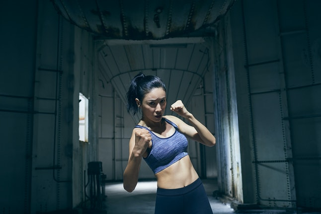 Zoe Zhang for Under Armour's Unlike Any campaign