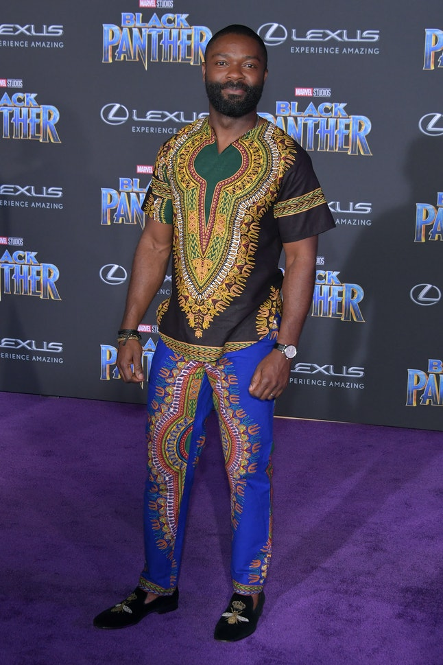David Oyelowo at the Los Angeles World Premiere of 'Black Panther'