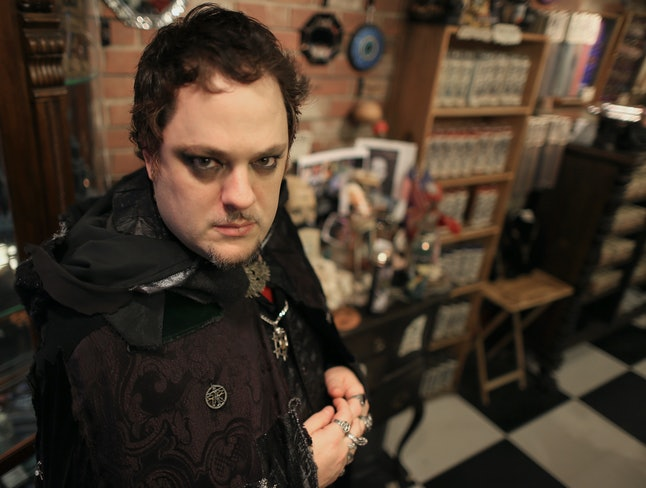 Christian Day, the Salem warlock accused of harassing witch Lori Sforza.