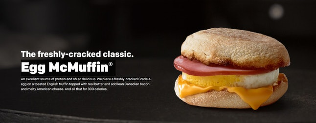 Source: McDonalds