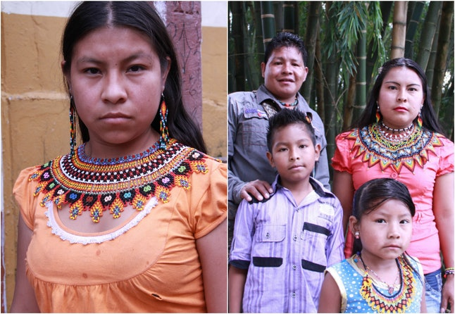 Santa Isla works with the Embera Chami people of Colombia to create contemporary beaded jewelry.