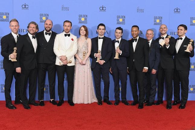 'La La Land' at the Golden Globes