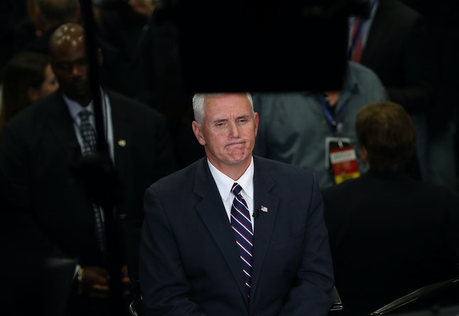 Expect Pence to face tough questions about Indiana's religious freedom law.