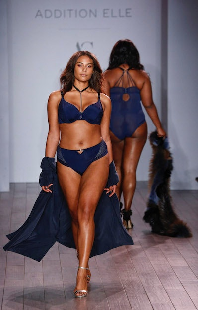 Addition Elle Presents Holiday 2016 RTW + Ashley Graham Lingerie on September 14, 2016