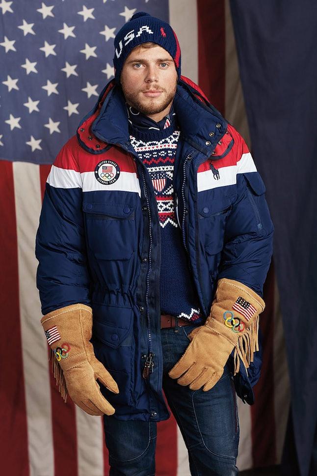 Team USA's opening ceremony parade uniform