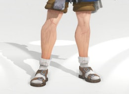 Soldier: 76?s sock and sandal combination in all its glory