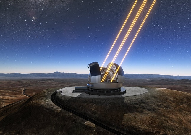 "The ""Extremely Large Telescope"" will be operational by 2024."