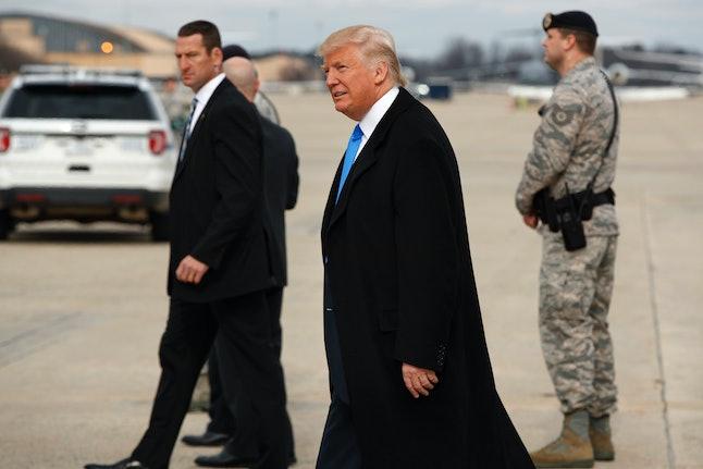 Trump on Thursday ahead of the inauguration