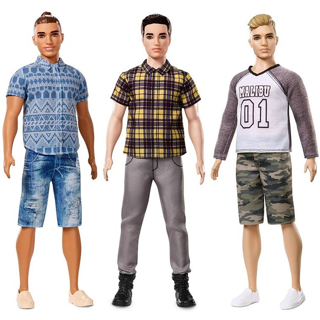 The broad Ken dolls