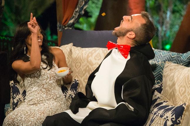 Matthew and Rachel in 'The Bachelorette' season 13 premiere
