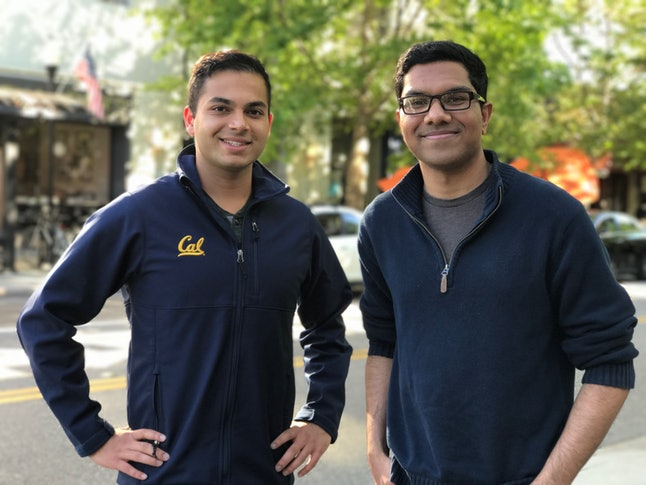 College sophomores Ash Bhat, 20, and Rohan Phadte, 19, built the NewsBot together.