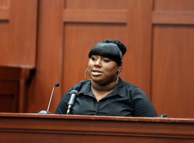 Rachel Jeantel takes the stand at the George Zimmerman trial.