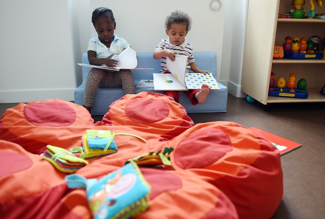 French daycares are heavily subsidized and much cheaper for families