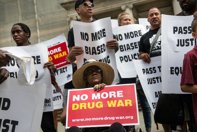 The prohibition of marijuana is a major contributor to the American prison system, leading to hundreds of thousands of arrests a year.