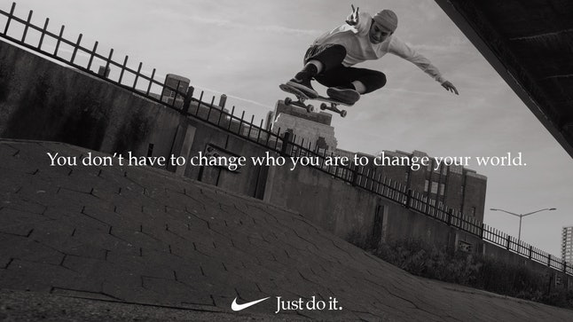 """Lacey Baker in Nike's 30th anniversary """"Just Do It"""" campaign"""