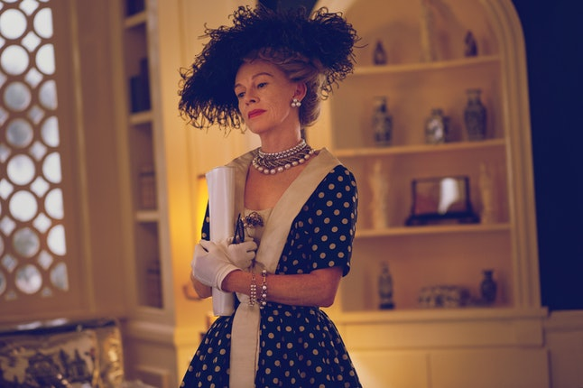 Judy Davis as Hedda Hopper in 'Feud: Bette and Joan'