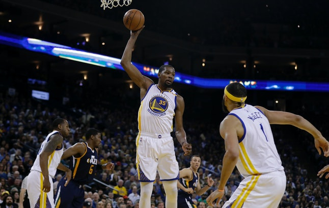 In 2014, Kevin Durant of the Golden State Warriors signed a 10-year sponsorship contact with Nike.