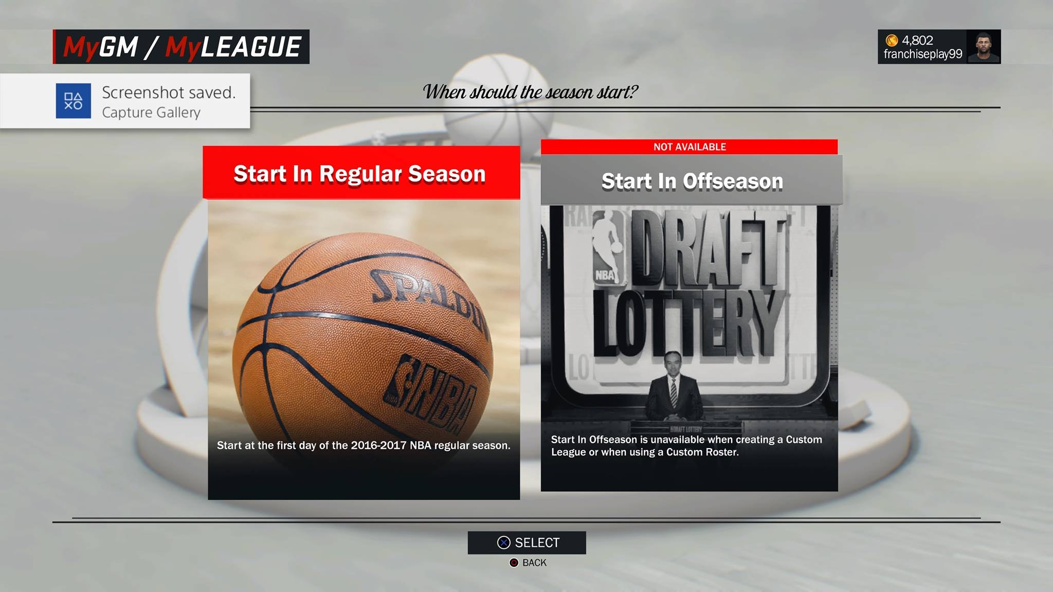 NBA 2K17': How to replace every team to create a new fantasy league