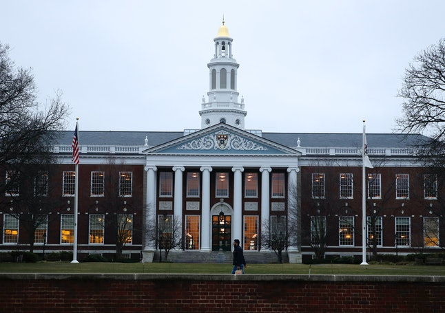 The Baker Library at the Harvard Business School