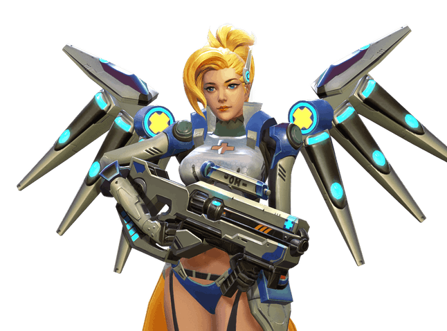 So, they just stripped Mercy down and called it a day. I mean, that's a choice, I guess.
